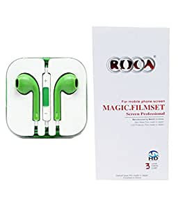 Combo offer Earphone and Screen Guard Protector for LG G3