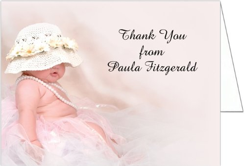 Emily Baby Shower Thank You Cards - Set Of 20 front-1026130