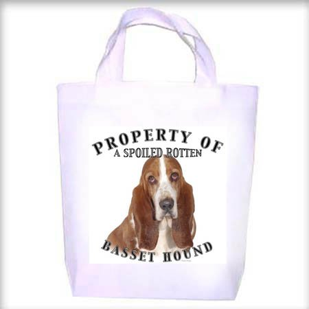 Basset Hound BI Property Shopping - Dog Toy - Tote Bag