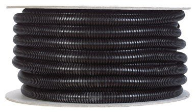 Drossbach R012PEBS100 1 2 x 100 Black Corrugated Tubing Split LoomB00009W3XP