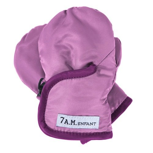 7AM Enfant Classic Mittens 500, Pink/Grape, Small