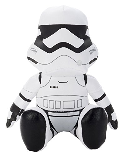 Japan Disney Official Star Wars the Force Awakens - First Order Stormtrooper White Mascot Soft Plush Stuffed Toy Cushion Kids Doll Bean Bag Plushie House Table Decor Accessory Takara Tomy Arts