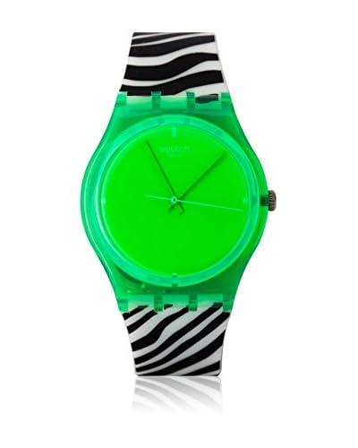 Swatch Quarzuhr Unisex GREEN ZEB GG210 34 mm