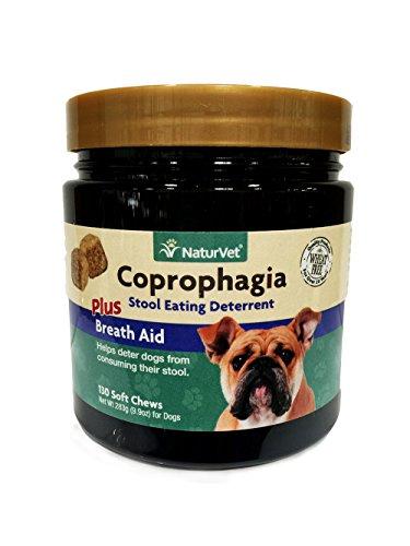 Naturvet Coprophagia Deterrent Plus Breath Aid Soft Chew