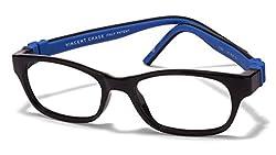 Vincent Chase Flex VC 8027 Black Blue C4 Kids' Eyeglasses (Kids 1-5 yrs)