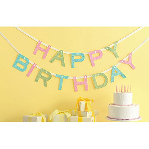 Martha Stewart Crafts Martha Stewart Crafts Happy Birthday Banner