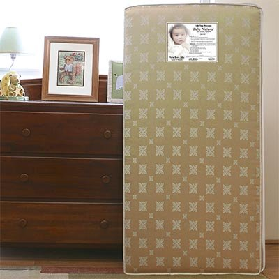 L.A. Baby 2 In 1 Soy Foam Crib Mattress Life Time Warranty front-665384