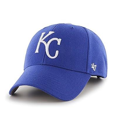 MLB Kansas City Royals '47 MVP Adjustable Hat, Home Color color, One Size,Home