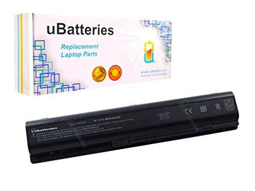 UBatteries Laptop Battery HP Pavilion dv9890el dv9890eo dv9890ep dv9890es dv9890ew dv9901tx dv9905el dv9914el dv9920ed dv9925ez - 12 Cell, 14.4V