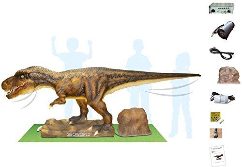 Geoworld: T-Rex Animatronic Großfigur mit Bewegungs- u. Soundeffekt