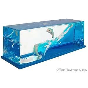 ALPI International, Ltd. Wave Paperweight Dolphins