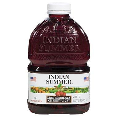 Indian Summer Tart Montmorency Cherry Juice - 8 pk. - 46 oz. (Indian Summer Cherry Juice compare prices)