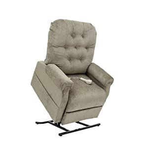 Wayne 3 Position Reclining Power Lift Chair Lift Chairs