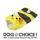 【DOG CHOiCE!】 CUTE ミツバチシリーズ [レインコート・フリースパーカー・フードTシャツ] (フード付きレインコート, SS)