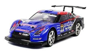 Speed III Nissan GTR R35 Skyline Electric RC Drift Car 1:14 RTR LED Lights