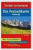 Die Allianz Freizeitkarte Tiroler Unterland 1:120 000
