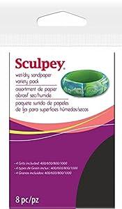 Sculpey bagnato/asciutto levigare Variety Pack 8Pc-2,75 X4.5   Comentarios de clientes y más noticias