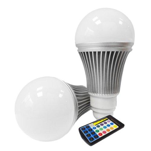 Miniwatts Gu10 6W Rgb Colour Changing Led Globe Light Bulb With Memory Capacity