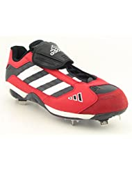 Adidas Excelsior Low Baseball Cleats Shoes Red Mens