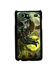 Aart Designer Luxurious Back Covers for Samsung Galaxy S Advance I 9070 + 3D F2 Screen Magnifier + 3D Video Screen Amplifier Eyes Protection Enlarged Expander by Aart Store.