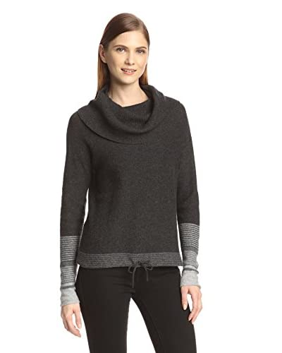 Cullen Women's Ombre Cuffs Cowl Neck Sweater