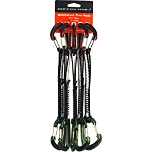 "Metolius 5"" FS Mini Quickdraw w/Monster Sling & Jig (5 Pack)"
