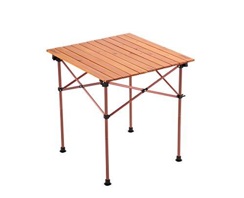 コールマン テーブル ナチュラルウッドロールテーブル ヴィンテージ/65
