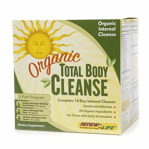 Renew Life Organic Total Body Cleanse, 3-Part Program 1 Set