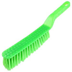 Plastic Grip Soft Bristle Carpet Bed Sheets Clothing Cleaning Brush Green