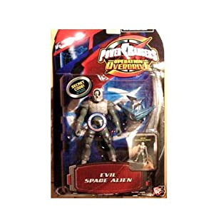 Power Ranger Operation Overdrive - Evil Space Alien 1