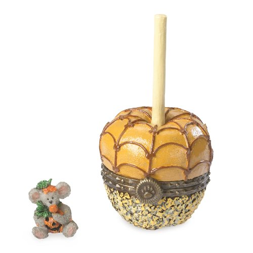 Boyds Resin Carmel Apple Trinket Box