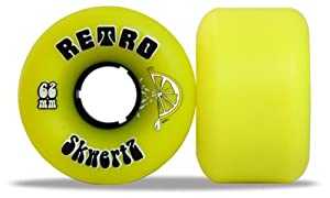 Buy Retro Skateboard Wheels - Skwertz - 62mm 96a by Retro