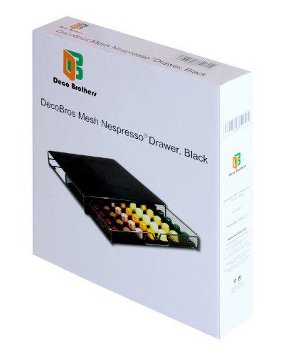 Decobros Coffee Pod Packs Storage Mesh Drawer Holder