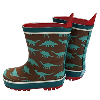 Toby Tiger Boys Wellies, Dinosaur