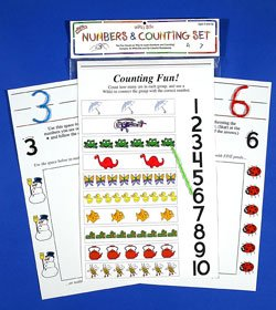 Wikki Stix Numbers Set - 1