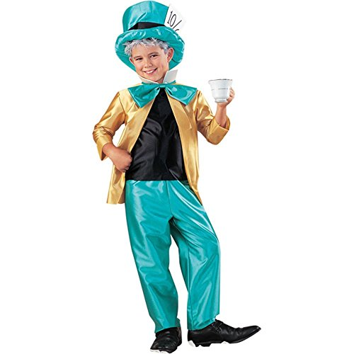 Alice in Wonderland Mad Hatter Costume (Sz:Sm 4-6)