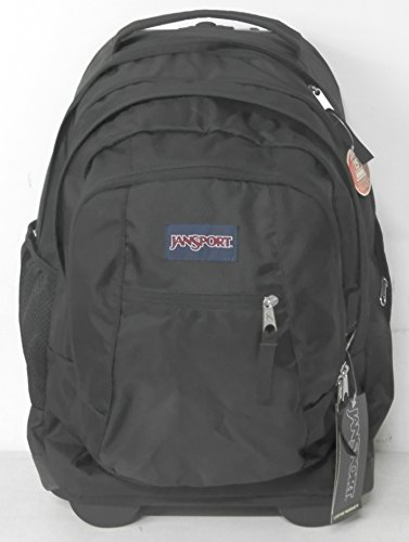 JanSport Driver 8 Core Series Wheeled Backpack(Black) (Jansport Trolley Bags compare prices)