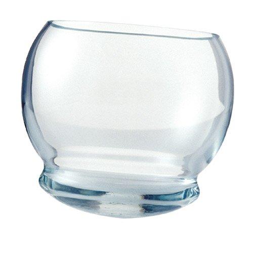 Vasos con base redonda