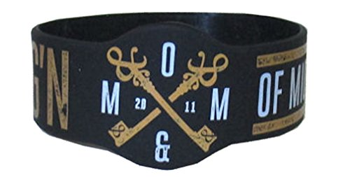 OF MICE AND MEN - Still YDG'N - Black Rubber Wristband
