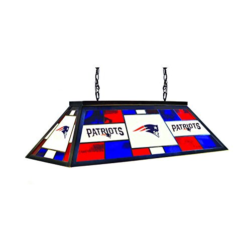 Stained Glass Billiard Light: Imperial Officially Licensed NFL Merchandise: Stained