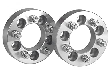 2 Ford Bronco II Wheel Spacers Adapters 1.5 inch with a 5×4.5 bolt pattern