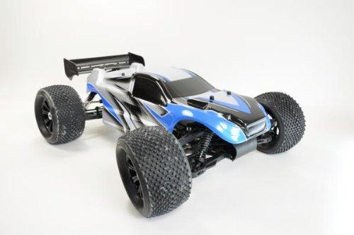 Amewi-ferngesteuertes-Auto-mit-Verbrennungsmotor-Truggy-BD8T-402-ccm-18-mit-24-GHz