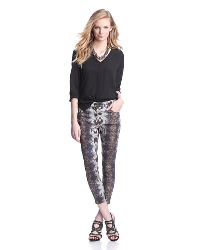 W118 by Walter Baker Women's Melody Pant  [Saphire Snakeskin]
