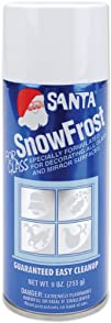 Brite Star 29250  Santa Snow Frost for GlassMirror surfaces
