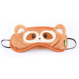 Amazon.com : Dfunlife Cute Raccoon Bear Sleep Eye Mask for ... Raccoon Eye Mask