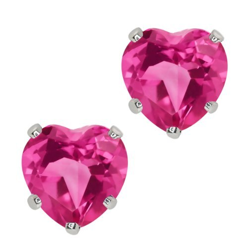 190-ct-heart-shape-6mm-pink-mystic-topaz-10k-white-gold-stud-earrings-by-gem-stone-king