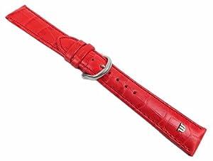 Maurice Lacroix ML-21940-18S - Correa para reloj, piel, color rojo de Maurice Lacroix