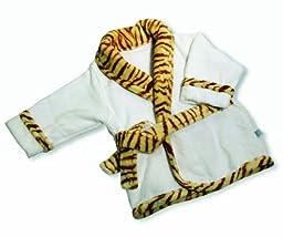 The Babymio Collection Robe, Jax the Tiger, 24 Months