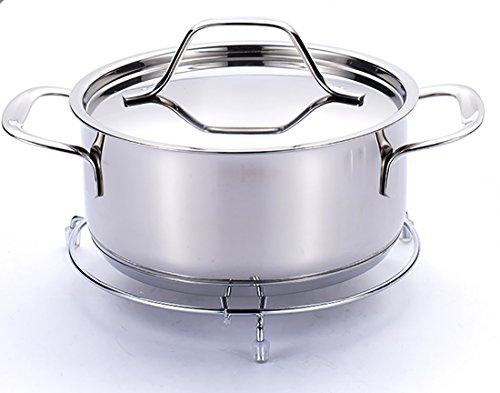 jieyu Cuisine Fer Pot à isolation thermique support étagère