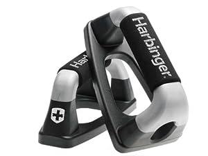 Harbinger 373500 Padded Handle Push-Up Bars